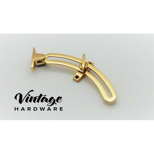 POLISHED BRASS, QUADRANT STAY